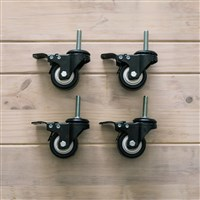 Ss Brewtech Casters for Chronicals & Brite Tanks / Ss Brewtech Casters for Chronicals & Brite Tanks