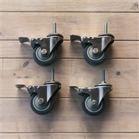 Ss Brewtech Heavy Duty Casters for Unitanks, Chronicals, & Brites /