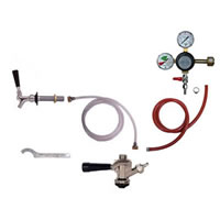 Kombucha 1 Tap Fridge Kit for Draft Kombucha - Sanke D
