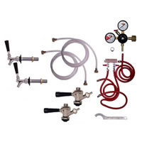 kegerator conversion kit 2 taps