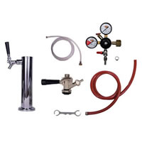 Kegerator Tower Conversion Kit - 1 Tap /