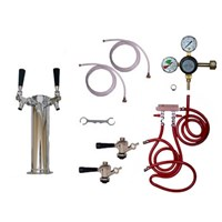 Taprite Kegerator Tower Conversion Kit - 2 Taps /
