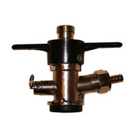 "American ""D"" Keg Tap (Coupler - Sanke) - Twist on Style /"