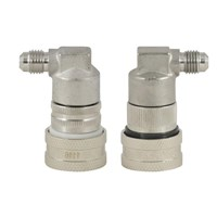 Stainless Steel Ball Lock Disconnect Set - Threaded /