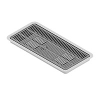 "16"" x 7"" Flush Mount Drip Tray with Drain /"