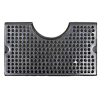 "12""x7""  Cut Out Drip Tray - Stainless Steel"