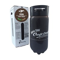 Nitro Coffee Keg / Organic Peru Light Roast / 5.16 Gallon Full Keg /