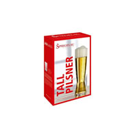 SPIEGELAU Tall Pilsner Glass - 2 Pack /