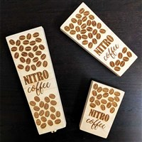 Nitro Coffee Wood Tap Handles (Laser Engraved) /