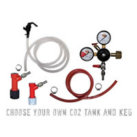 Basic Homebrew Keg Kit - Pin Lock