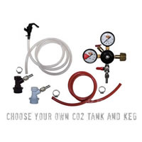 Basic Homebrew Keg Kit - Ball Lock /