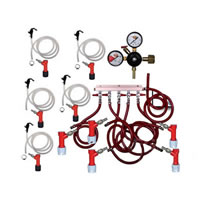 Basic Homebrew Keg Kit - 5 Tap - PIN LOCK /