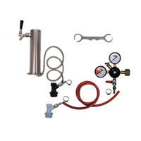 1 Faucet Tower Keg Kit - BALL LOCK /
