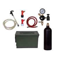 Basic Homebrew Keg Kit In Ammo Can - 20oz CO2 - Pin Lock /