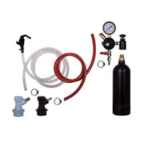Basic Homebrew Keg Kit - 20oz CO2 - Ball Lock