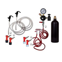 Basic Homebrew Keg Kit - 20oz CO2 - Double Tap - Pin Lock /