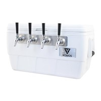 Komos™ Marine Ultra Cooler Draft Jockey Box - 4 Faucet /