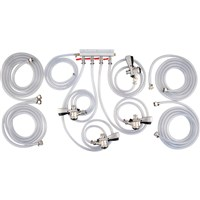 Connection Kit for Komos Draft Jockey Box - 4 Faucet Commercial (Sanke) / Komos Jockey Box Connection Kit - 4 Faucet Sanke D
