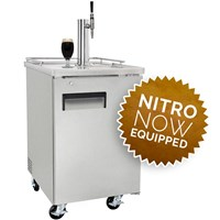 NitroNow Commercial Single Faucet On-Demand Nitro Coffee Kegerator /