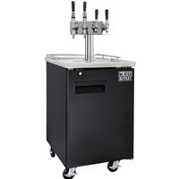 4 Faucet Cold Brew & Nitro Coffee Commercial Kegerator /