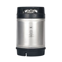 AMCYL - 2.5 Gallon Ball Lock Keg w/ Rubber Top Dual Handle (New) /
