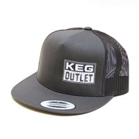Keg Outlet Classic Trucker Hat (FlexFit Trucker Snap Back) /