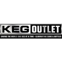 "Keg Outlet Sticker (9.25""X2.25"") /"