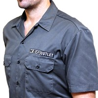 Keg Outlet Short Sleeve Work Shirt (Dickies)