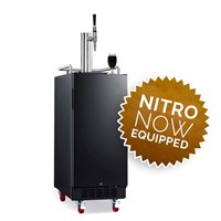 NitroNow Compact Single Faucet On-Demand Nitro Coffee Kegerator /