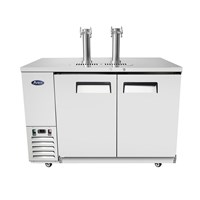 Atosa Dual Tower 4 Tap Draft Beer Kegerator (MKC58GR) / Atosa Dual Tower 4 Tap Draft Beer Kegerator