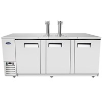 Atosa Dual Tower 4 Tap Draft Beer Kegerator (MKC90GR) / Atosa Dual Tower 4 Tap Draft Beer Kegerator