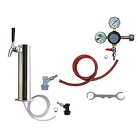 1 Faucet Kombucha Kegerator Conversion Kit (Homebrew) /