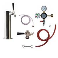 1 Faucet Kombucha Kegerator Conversion Kit (Commercial) /