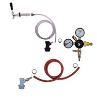 Cold Brew Coffee 1 Tap Fridge Kit - Flat Coffee Faucet /