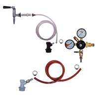 Nitro Coffee 1 Tap Stout Fridge Kit - Nitro Coffee Faucet /