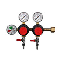 CO2 Beer Regulator - Three Gauge - Taprite /