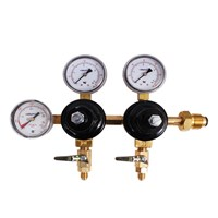 Nitrogen Regulator - Three Gauge - Dual Body - Taprite /