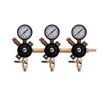 Chudnow Secondary Regulator - Low Pressure - 3 Body /