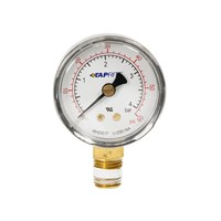 Regulator Gauge - 0-60 PSI - Taprite /