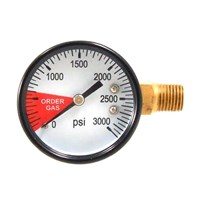 Regulator Gauge - 0-3000 PSI /