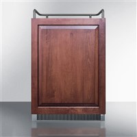 "24"" Wide Undercounter/Built-in Panel Ready Kegerator by Summit (SBC677BINKIF) / Undercounter/Built-in Panel Ready Kegerator"