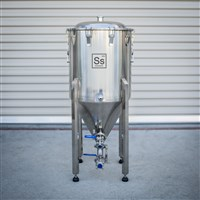 THE CHRONICAL Stainless Steel Half Barrel - Conical Fermenter /