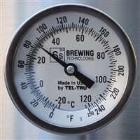 Ss Brew Tech Bi-Metal Thermometer for Ss Kettles / Ss Brew Tech Bi-Metal Thermometer for Ss Kettles