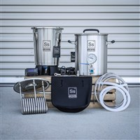 Extract & Partial Mash - Complete Mini Ss Brewing & Fermenting Kit /