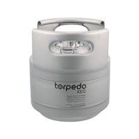 2.5 Gallon Torpedo Ball Lock Corny Kegs (Stackable Kegs) /