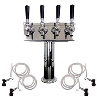 4 Faucet Cold Brew Coffee Draft Tower /
