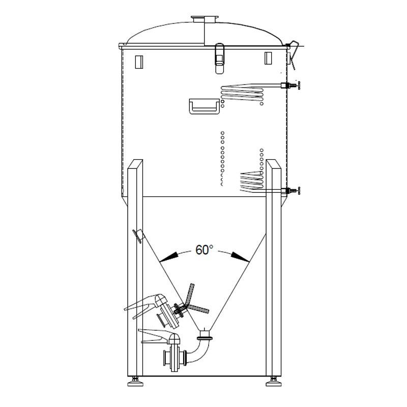 Ss Brewtech 1 Barrel 1bbl Chronical Conical Fermenter