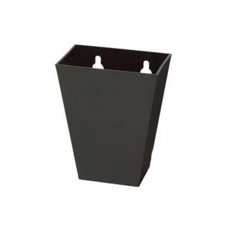 Black Plastic Bottle Cap Catcher Tall