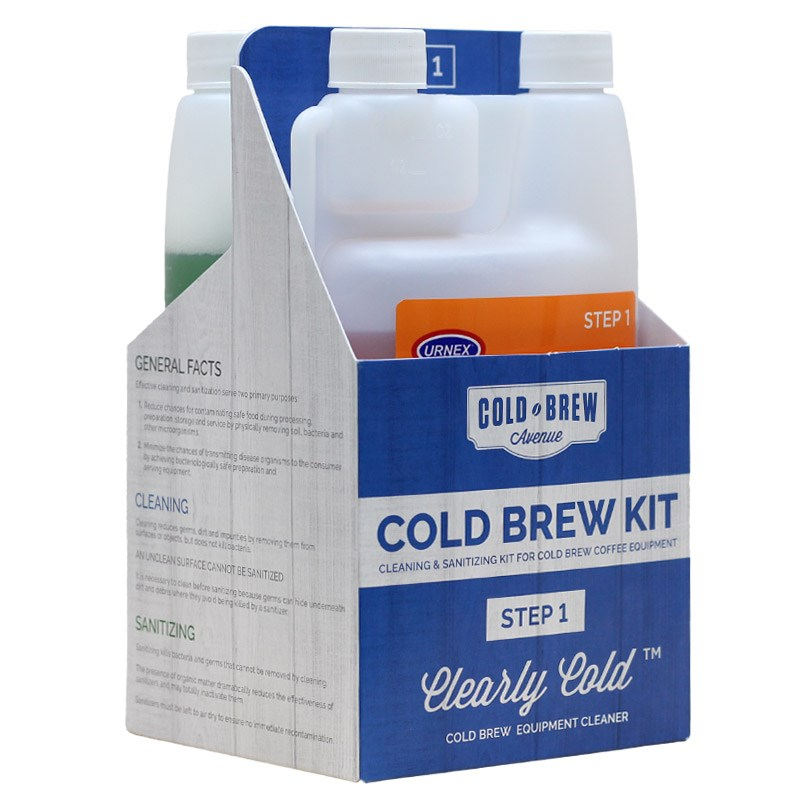 1 2 cold brew cleaning sanitizing kit by urnex for cold brew ave