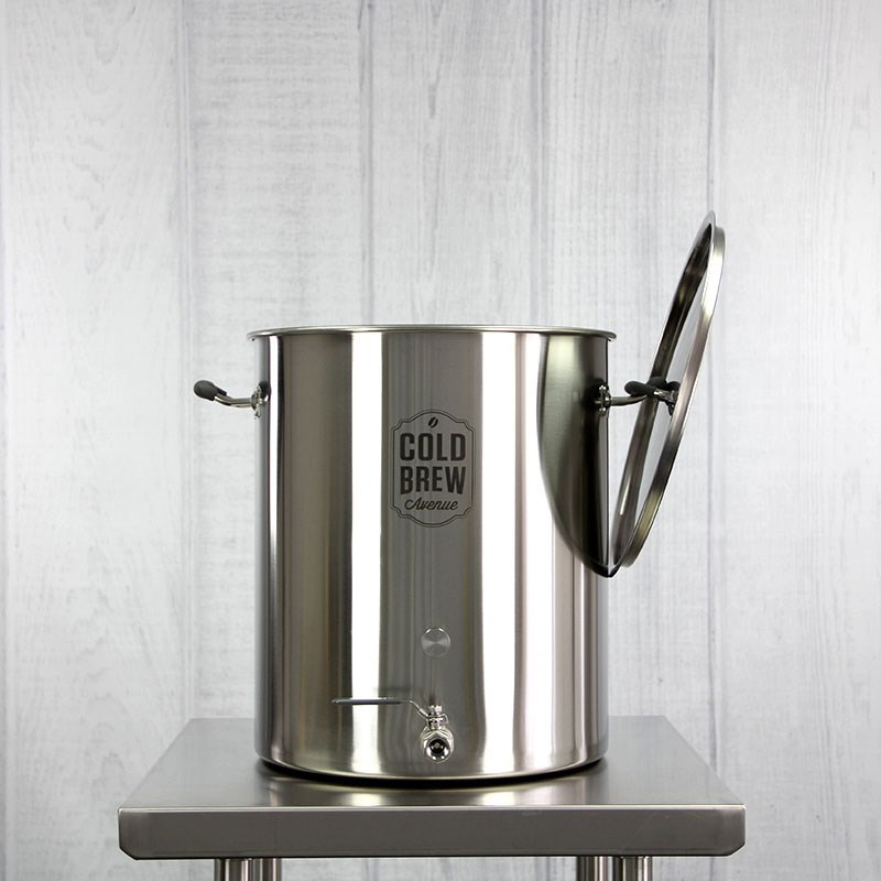 Stainless Steel Cold Brew Coffee System w Filter 15 Gallon